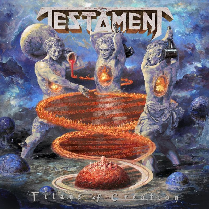Testament – Titans of creation (april 2020)